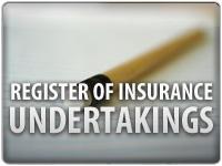Register of insurance undertakings